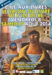 Affiche couv programme ILE AUX LIVRES 2014